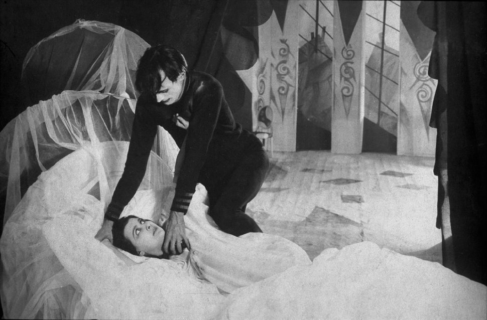 Blu ray review das cabinet des dr caligari the least picture show - Cesare the cabinet of dr caligari ...