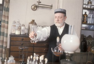 Picture Shows: Louis Pasteur (ARTHUR LOWE)